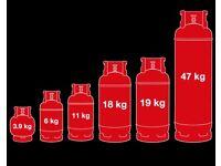 Propane/lpg bottles refilled half price