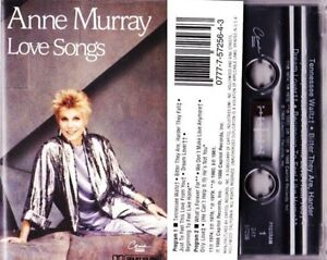 Anne-Murray-Love-Songs-Music-Audio-Cassette-1988