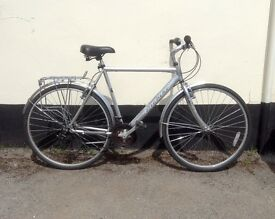 "GENTS HYBRID BIKE 23"" FRAME £75"