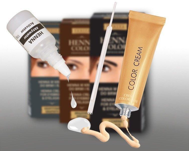 Henna Color Creme für Augenbrauen und Wimpern Henne Öko 100g = 11,63 €