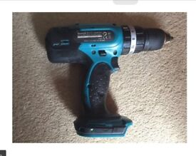 MAKITA 18 VOLT CORDLESS DRILL LITHIUM-ION BATTERY BODY ONLY FOR SALE , VERY GOOD CONDITION ,