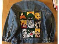 Childs Disney Character Denim Jacket