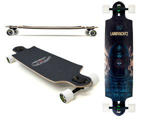 New 2013 Landyachtz DROP SPEED 9.4 x 38.5 Complete Skateboard Longboard