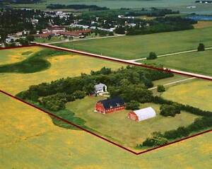Home on 20+ acres with barn + shop