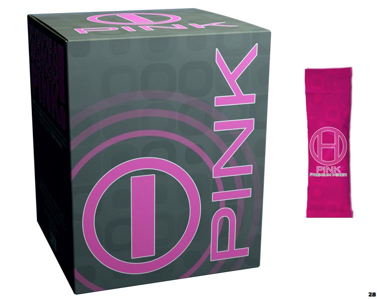 BHIP PINK for Women I-PNK Energy Drink All Natural for Mind