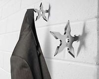 The Ninja Star Coat Hook