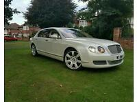 BENTLEY CONTINENTAL FLYING SPUR 6.0 V12 TWIN TURBO 560 BHP MASSAGE SEATS TV DVD SCREENS IMMACUALTE