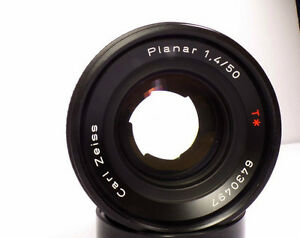 Carl Zeiss Planar T f1.4 50mm AEJ Lense for Contax/Yashica Mount Windsor Region Ontario image 4