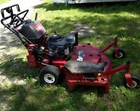 "Toro 48"" walker behind commercial mower reconditioned"