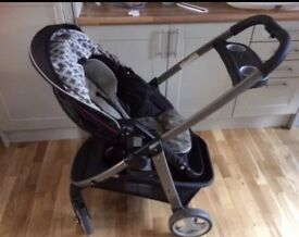 Graco travel stroller/pushchair - front & rear facing