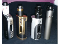 Large Collection of High End Vaping Hardware Looking for Nikon or Canon DSLR