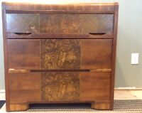 2 Antique Art Deco Dressers