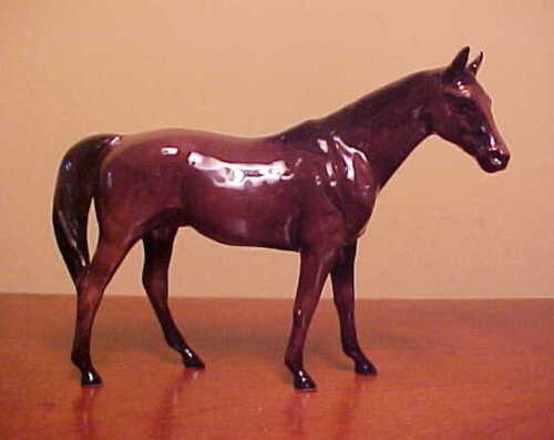 Hagen-Renaker #011 Mini CITATION - Ceramic Thoroughbred Racehorse Figurine