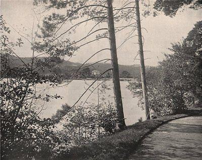 Green Island Resort (Green Island, Lake George, New York. The Sagamore Resort & Hotel 1895 print)