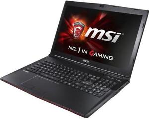 MSI LEOPARD PRO GP72  gaming laptop 17'' Intel Quad i7-6700hq turbo 3.6GHZ 16GB ,1TB, NVIDIA GTX 960M