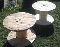 bobine de bois (touret en bois)