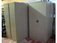 Bisley 3 tier Grey Metal Cupboard/ FREE DELIVERY
