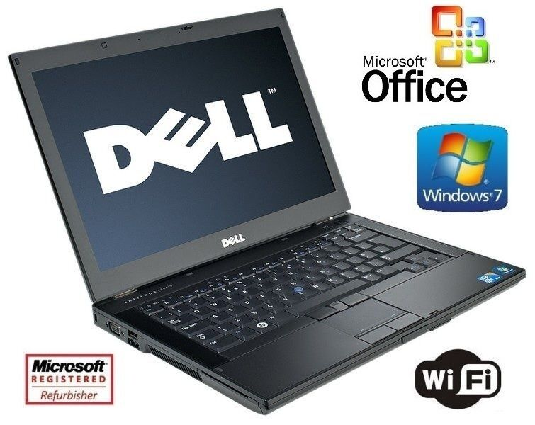 "15"" Dell Latitude E6510 Laptop Windows 7 Core i7 2.67GHz 8GB RAM 1TB + MS Office"