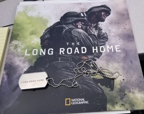 The Long Road Home press kit promo book, dog tags flash drive FULL Episodes,pics