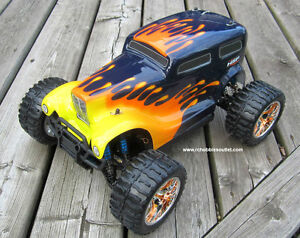 New RC Truck Brushless Electric  4WD LIPO 2.4G