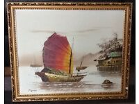 Oil painting from Hong Kong