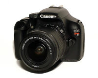 Canon T3 With Camera Bag