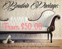 Boudoir Package --- From $50.00
