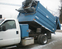 2002 FORD F450 Super Duty XL Dump Truck, diesel, very low kms