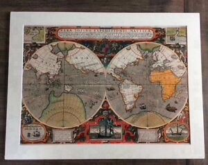 $20 each --- maps Art print with matt border.RRP$26 Mornington Clarence Area Preview