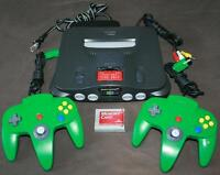 Nintendo 64 w/ Expansion Pack, Memory Card & 2 Controllers