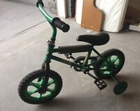 Kids size 3-4 year old first bike