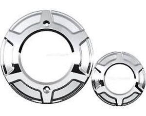 VICTORY BEVELED ENGINE COVERS IN CHROME ON SALE!