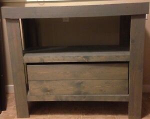 Weathered grey counsel- reclaimed wood *reduced*