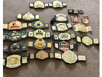 Bundle of Wwe kids belts play - belt buckle - wwf WCW tna wrestling