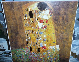 "Gustav Klimt ""The Kiss"" Art Print Stratford Kitchener Area image 1"