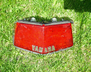 Yamaha Seca 650 turbo taillight brake light tail light