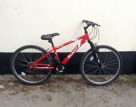 "BOYS/GENTS MOUNTAIN BIKE 13"" FRAME £45"