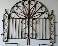 Decorative Iron Garden Gate/Fence