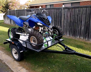 2011 Yamaha Raptor 700R with trailer Leeming Melville Area Preview