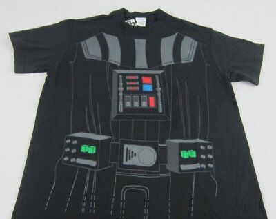 T-shirt Body Armor (Mens NEW Star Wars Darth Vader Body Armor Outfit Costume T-Shirt Size S M L XL)