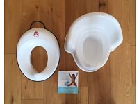 Baby Bjorn Potty & Toddler Toilet Seat & Potty Training Book