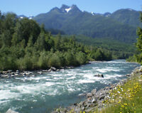 Chilliwack river cabin available June 5-10, 13-19, 21-July 1