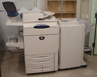 XEROX DOCUCOLOR 250 WITH FIERY CONTROLLER + CONSUMABLES