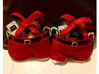 Small Christmas sweet & colouring Santa pants