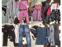 Girls Clothes bundle age 3-5 yrs x14 items