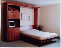 SPACE SAVER FURNITURE..condos/homes/cttgs  MURPHY BEDS