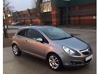 2010 CORSA VAUXHALL SXI 1.2 3 DOOR like ford astra bmw golf micra yaris car