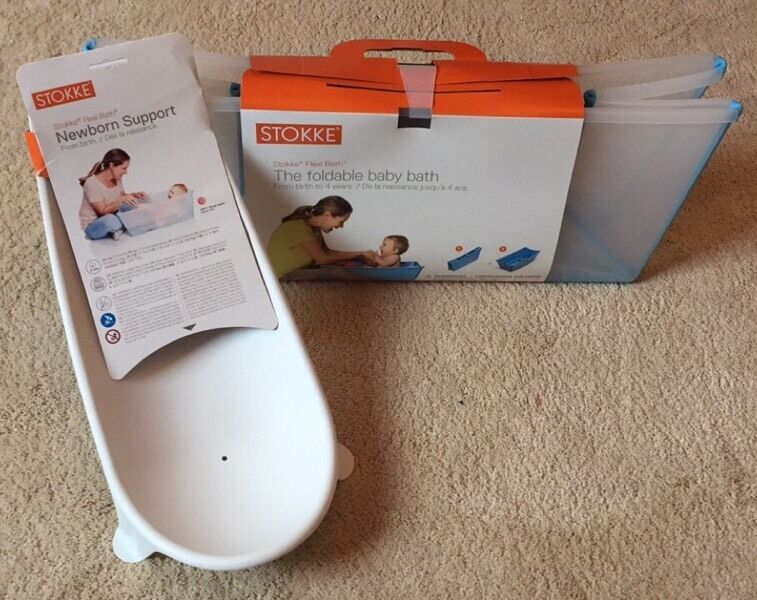 Stokke Newborn Bath Support - Hardly Used - New Condition | in ...