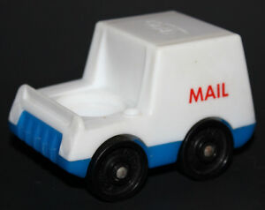 Vintage FISHER PRICE Little People MAIL TRUCK 997 Village