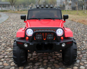 Real 4X4 Jeep Ride ON Cars with RC for Kids & Toddlers